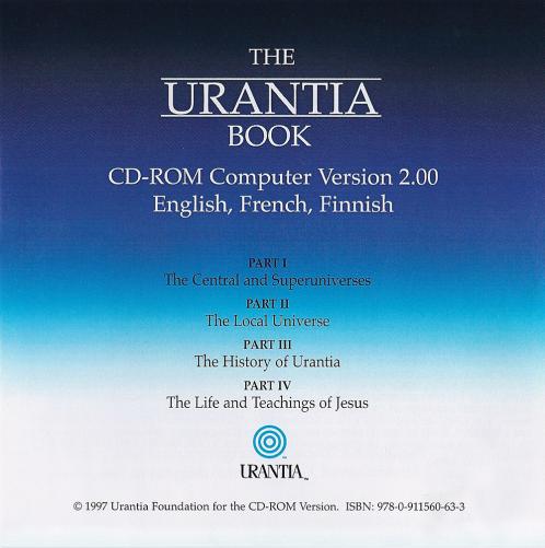 1997 The Urantia Book - CD ROM