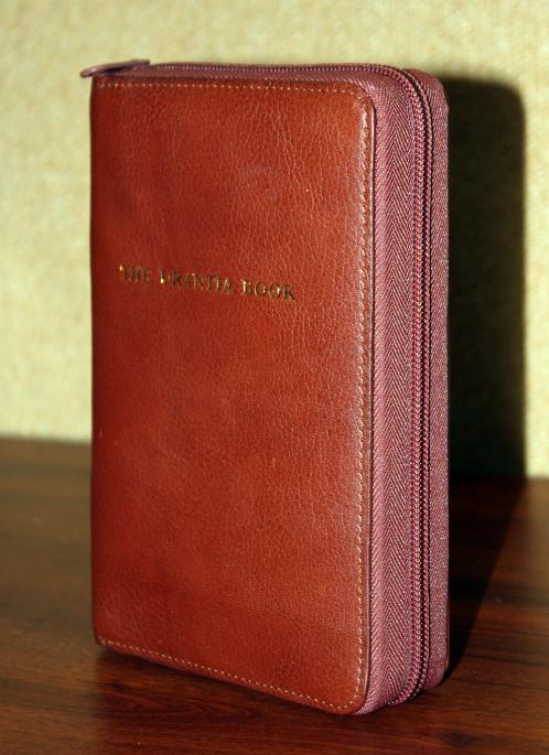 1998 The Urantia Book - Leatherbound - Zipper