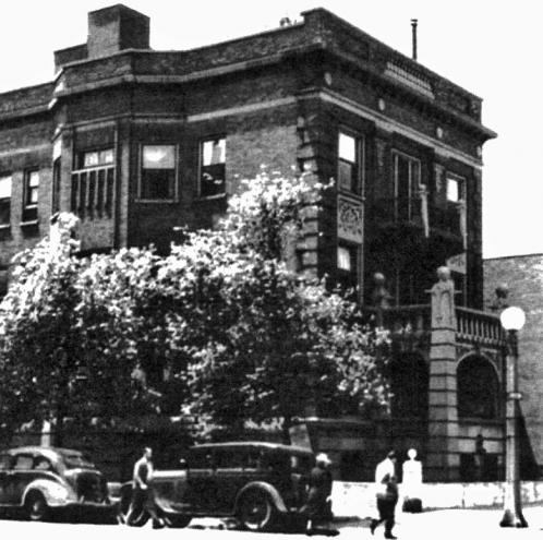 533 Diversey Parkway, Chicago, Illinois in the Thirties
