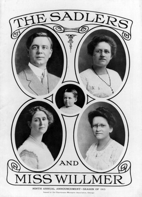 The Sadlers and Miss Willmer