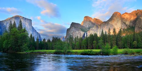 Yosemite Valley at the Merced River