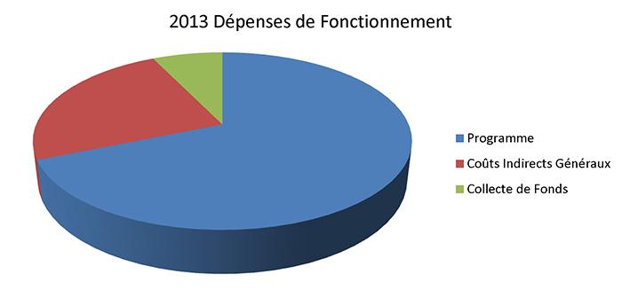 2013 Dépenses de Fonctionnement