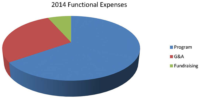 2014 Functional Expenses