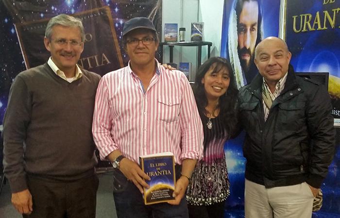 Wilson León, Carlos Rincon, Liliana Vargas en Gustavo Garcia