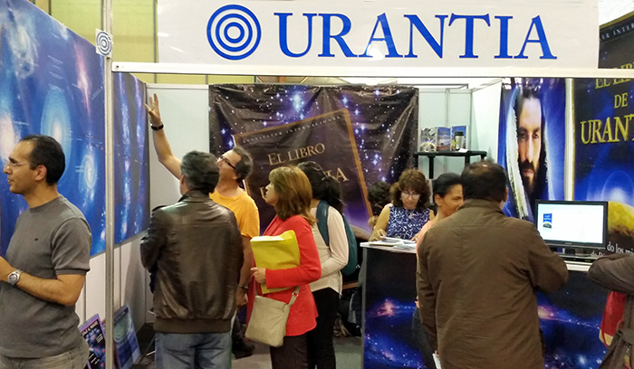 Urantia Book Stall at the 2015 International Book Fair in Bogotá, Colombia