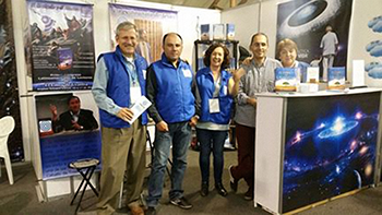 Urantia Book booth - 2016 Bogotá International Book Fair