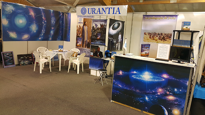 Urantia Book Stall at the 2016 International Book Fair in Bogotá, Colombia