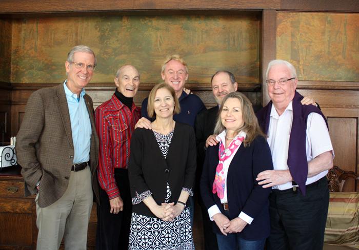 Gard Jameson, Richard Keeler, Marilynn Kulieke, Mo Siegel, Georges Michelson-Dupont, Judy Van Cleave, Henk Mylanus