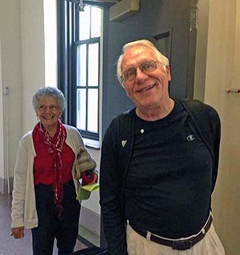 Arlene et Buck Weimer