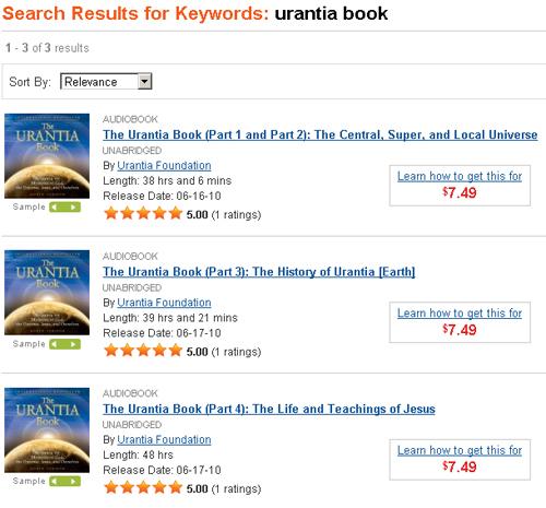 The Urantia Book on Audible.com