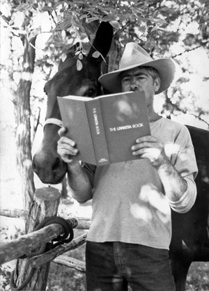 Bert Cobb, his mule, and The Urantia Book