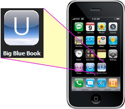 Big Blue Book iPhone