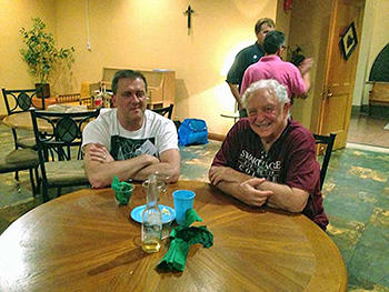 Cabot Eudaley y Steve Dreier