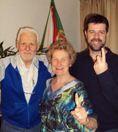 Caio Mário Caffé, Susana Hüttner Palaia, Carlos Leite da Silva