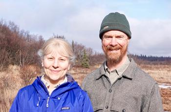 Carl Ramm y Susan Alexander