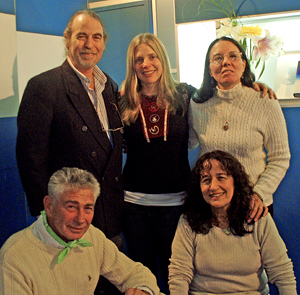 Carlos Rubinsky, Tamara Wood, Maria Inez Rubinsky, Bert Cobb, Graciela Cristina Benedetti