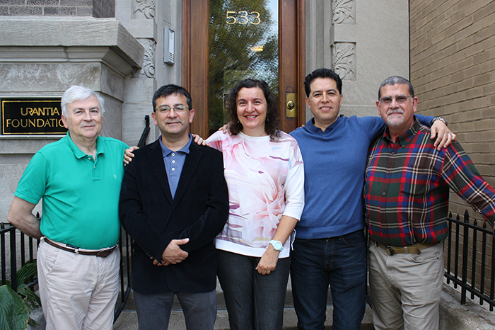 Carmelo Martínez, Anibal Pacheco, Olga López, Víctor García-Bory, Raúl Pujol