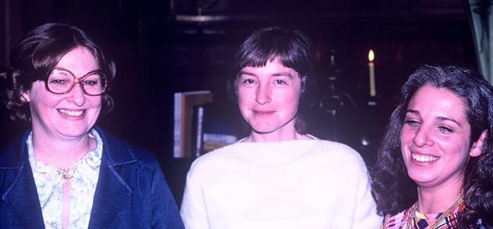 Carolyn Kendall, Nancy Grimsley, Gloriann Harris