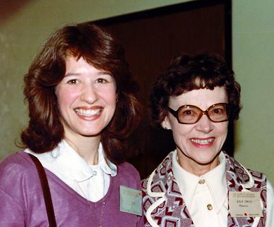 Carolyn Renn Sherwood and Nola Smith in Arizona, 1982