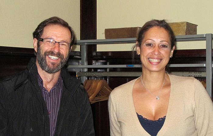 Cesar Paulo Zapello et Marcia Regina dos Santos