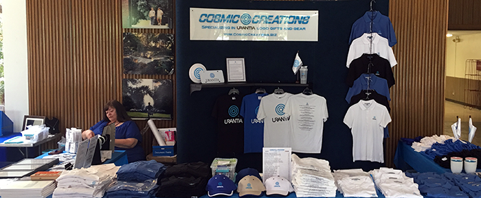 CosmicCreations booth