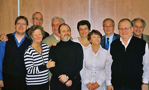 Urantia Foundation European Board Members in Paris