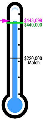 Fundraising Thermometer 2017