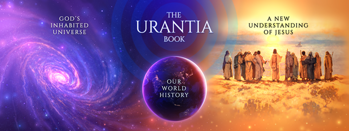 Urantia booth panel artwork by Gary Tonge