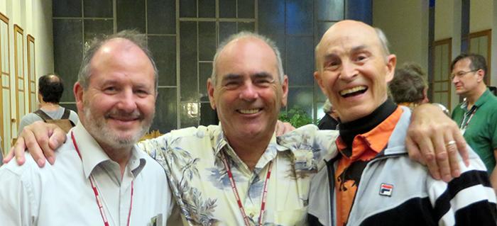 Georges Michelson-Dupont, Gaétan Charland et Richard Keeler