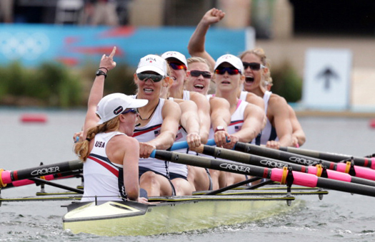 Taylor Ritzel. Women's Eight. 2012 Summer Olympics, London. [©Getty Images]
