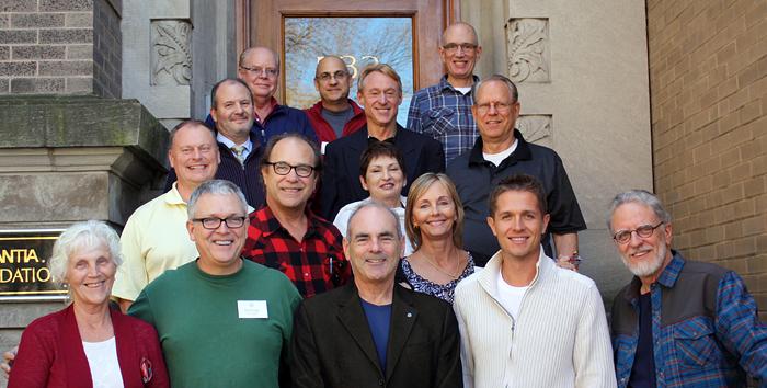 IT –pyöreänpöydän osallistujia 2012