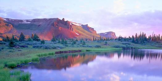 Flattops Wilderness near Meeker, Colorado