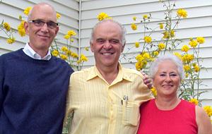 Jay Peregrine, Richard Doré and Colette Pelletier