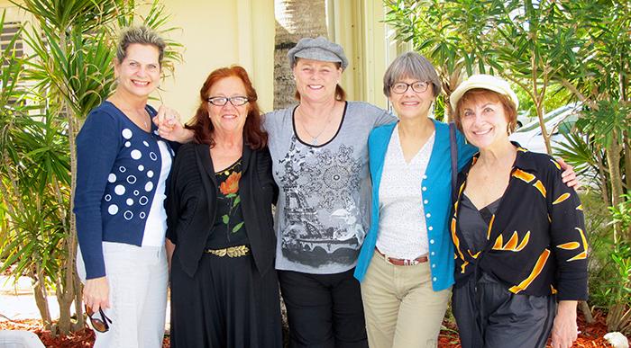 Line St-Pierre, Katharina Becker, Share Beasley,  Carolyn Prentice, Doreen Heyne