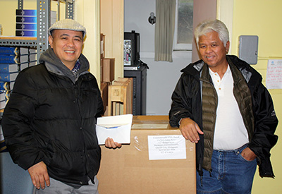 Nestor Nano and Eugene Asidao