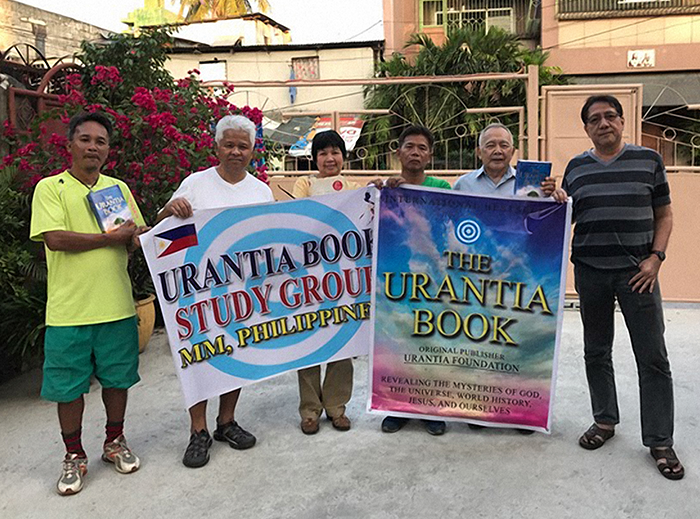 Eugene Asidao with a Phillipines Urantia Book Study Group