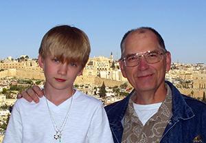 Rick Lyon and Ethan