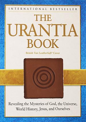 The Urantia Book, brittiläinen Tan LeatherSoft ™ -laitos laatikossaan