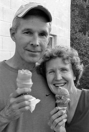 Tom Brachna and Kristi Pielstick