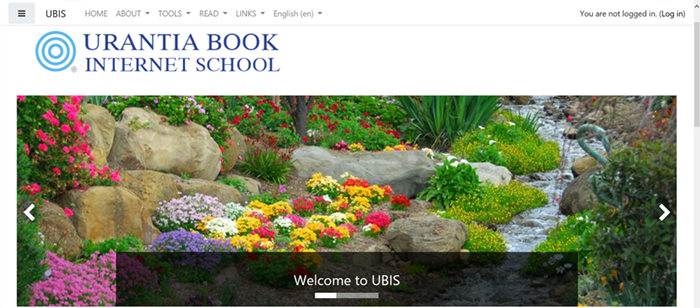 UBIS new front page