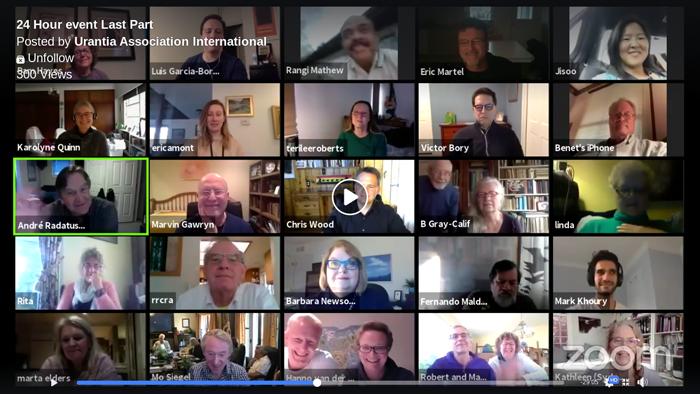 Urantia Association's Second 24-Hour Online Event