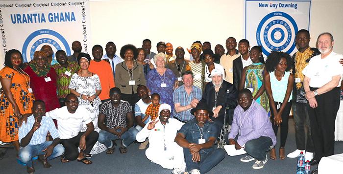conferencia Urantia en Ghana 2017