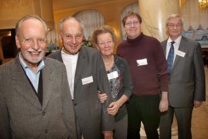 Urs Ruchti (the translator) Werner Sutter, Irmeli Ivalo-Sjölie, Christian Ruch, Seppo Kanerva (from Finland)