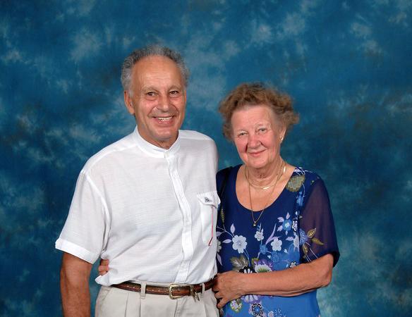 Werner Sutter and Irmeli Ivalo-Sjölie