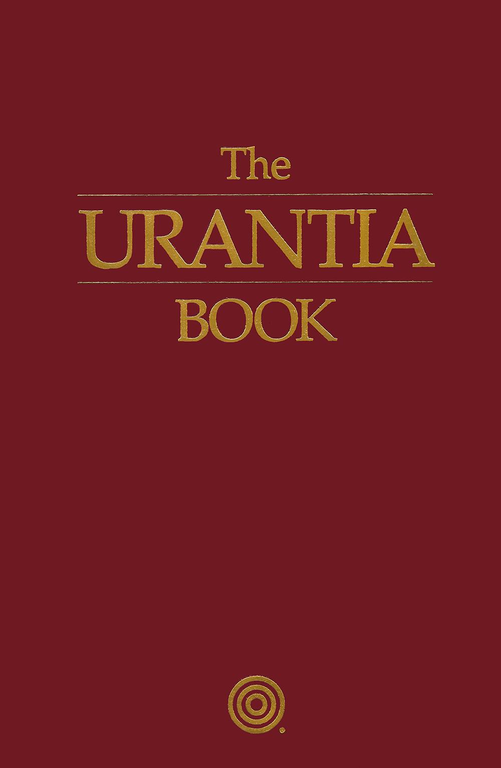 1999 The Urantia Book - Leather - Burgundy