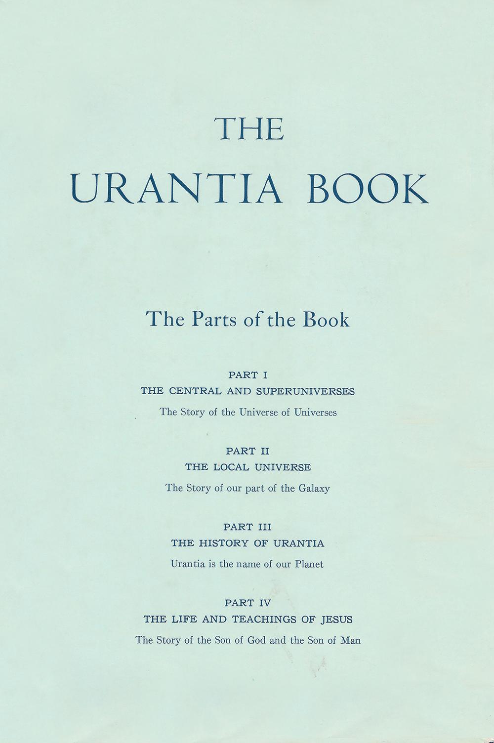 2002 The Urantia Book - Replica of 1955 edition
