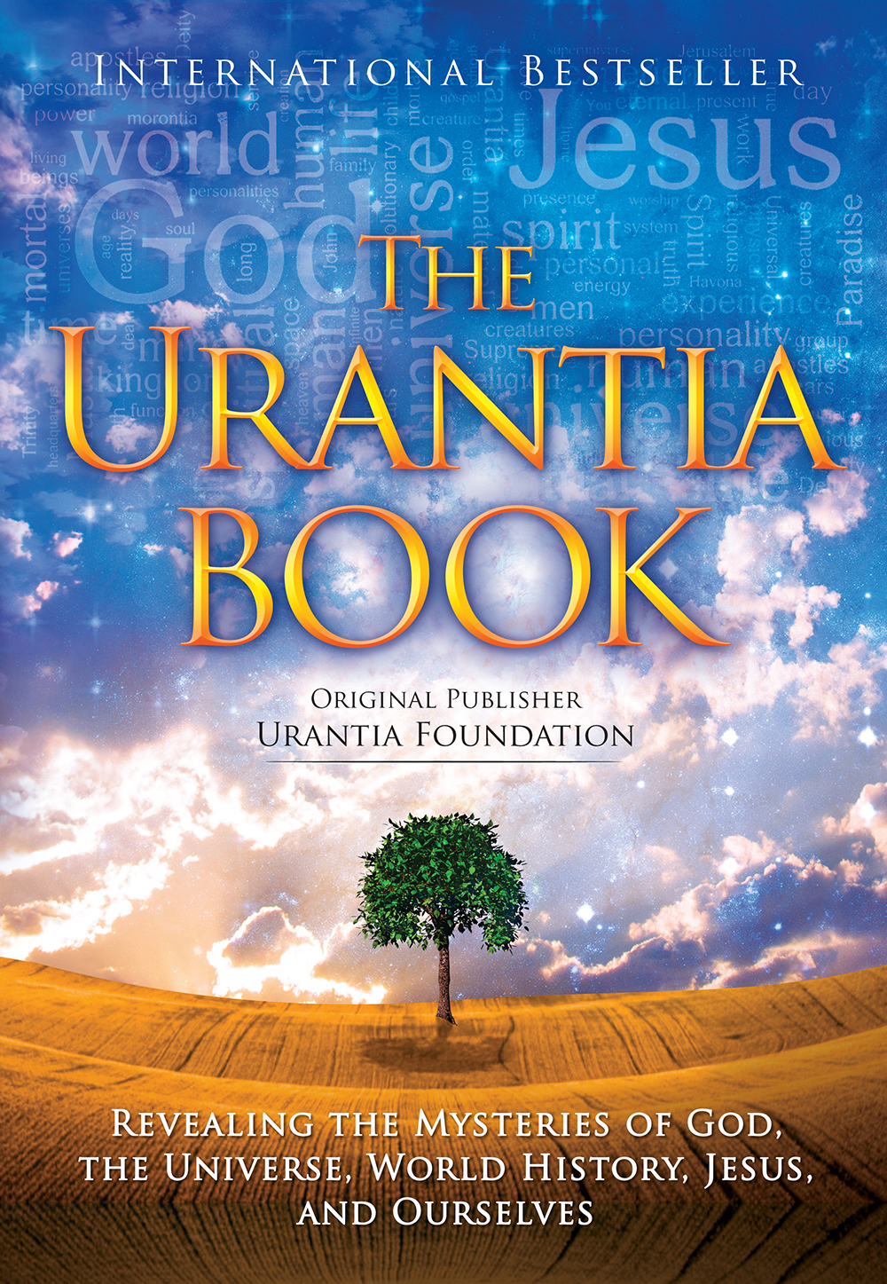 2013 The Urantia Book - Tree of Life - Word Cloud