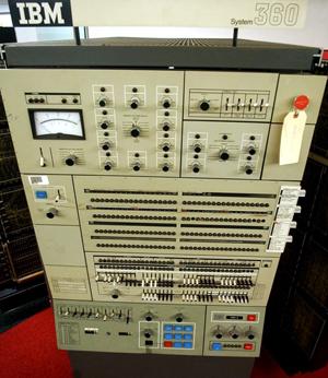 1964: IBM System/360 mainframe computer