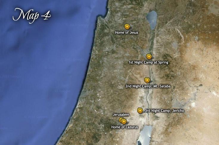 Primer viaje a Jerusalén