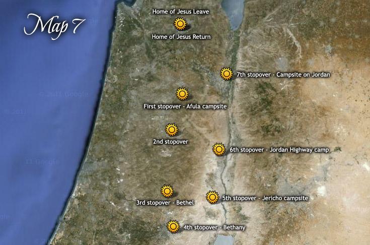 A második húsvéti útja Jeruzsálembe Jakab nevű öccsével